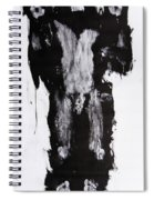 Male Nude Front Spiral Notebook
