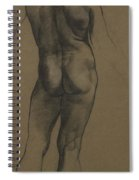 Male Nude Study Spiral Notebook
