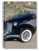 Malibu Mountain Curve Spiral Notebook