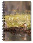 Mallards Spiral Notebook