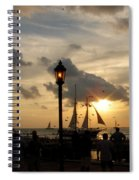 Mallory Square Key West Spiral Notebook
