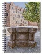 Malmohus Castle Courtyard Spiral Notebook