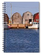 Malpeque Harbour Panorama Spiral Notebook