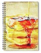 Malt Waffles Spiral Notebook