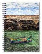 Malta Spiral Notebook
