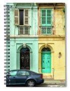 Maltase Style Doors And Windows  Spiral Notebook
