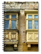 Maltase Style Windows  Spiral Notebook