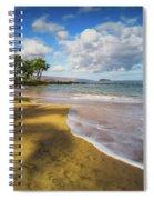 Maluaka Beach Spiral Notebook