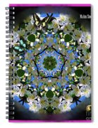 Malus Snowdrift Spiral Notebook