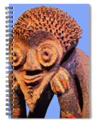 Mambila Figure Spiral Notebook