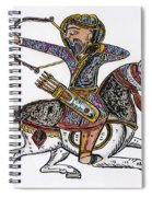 Mameluke Archer, C1300 Spiral Notebook