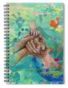 Mamma's Hands Spiral Notebook
