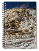 Mammouth Hot Springs Spiral Notebook