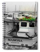 Mamosa Spiral Notebook