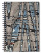 Man At The Lake Spiral Notebook