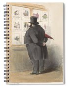 Man For A Showcase With Prints, Anonymous, 1810 - C. 1900 Spiral Notebook