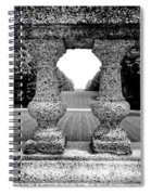 Man Frames Nature Spiral Notebook