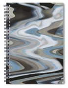 Man In The Moon Travels To Earth Spiral Notebook