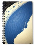 Man In The Moon Weeps Spiral Notebook