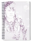 Man Of Steel Spiral Notebook
