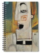 Man Of The Cloth Spiral Notebook