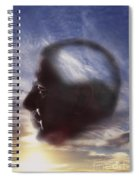 Man With Alzheimers Disease Spiral Notebook