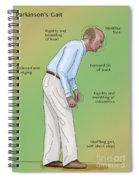 Man With Parkinsons Disease Spiral Notebook