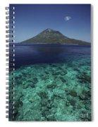 Manado Tua Island Spiral Notebook