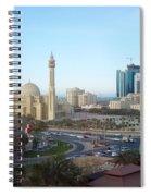 Manama Bahrain Spiral Notebook