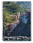 Manarola  0565 Spiral Notebook