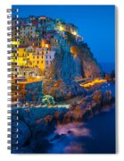 Manarola By Night Spiral Notebook