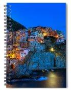 Manarola - Cinque Terre In Widescape Spiral Notebook