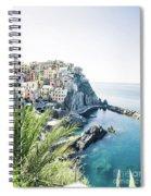 Manarola Cinque Terre Italy Spiral Notebook