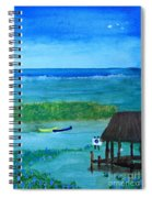 Manatee Refuge Part 2 Spiral Notebook