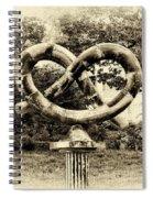 Manayunks Pretzel Park Spiral Notebook