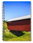 Manchester  Covered Bridge Spiral Notebook