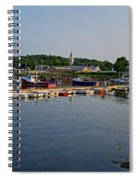 Manchester Harbor Manchester By The Sea Ma Spiral Notebook