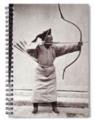 Manchu Archer, 1874 Spiral Notebook