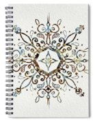 Mandala Earth And Water 3 Spiral Notebook