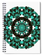 Mandala Image #5 Created On 2.26.2018 Spiral Notebook