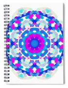 Mandala Image #7 Created On 2.26.2018 Spiral Notebook