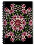 Mandala Monadala  Lisa Spiral Notebook