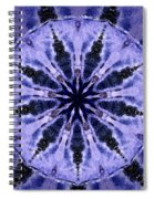 Mandala Ocean Wave Spiral Notebook