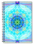 Mandala Of Womans Spiritual Genesis Spiral Notebook