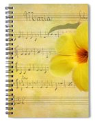 Mandevilla And Maria Spiral Notebook