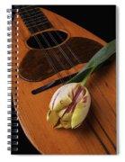 Mandolin And Tulip Spiral Notebook