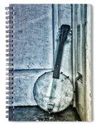 Mandolin Banjo In The Corner Spiral Notebook