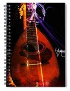 Mandolin Spiral Notebook