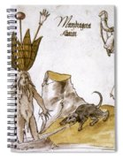 Mandrake And Herbalist Spiral Notebook