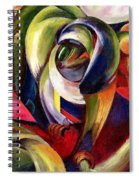 Mandrill Spiral Notebook
